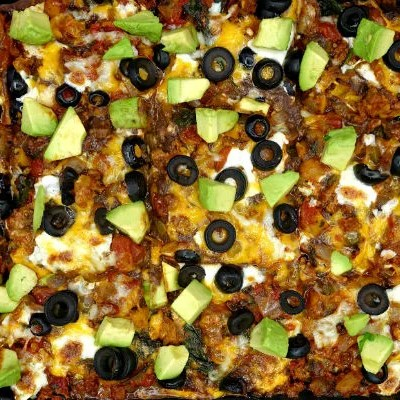 The Ultimate Gluten-Free Healthy Mexican Casserole