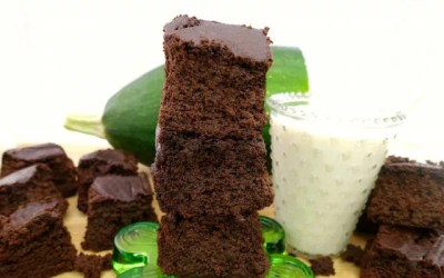Paleo Zucchini Blender Brownies