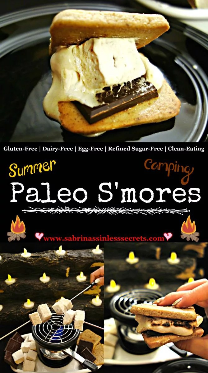 Paleo, dairy-free, refined sugar-free, egg-free, and clean-eating s'mores