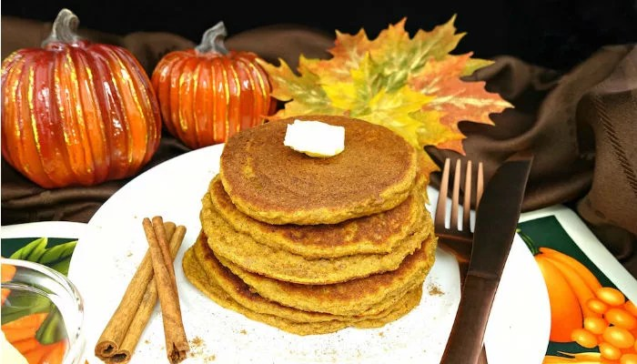 The Best Paleo Pumpkin Pancakes