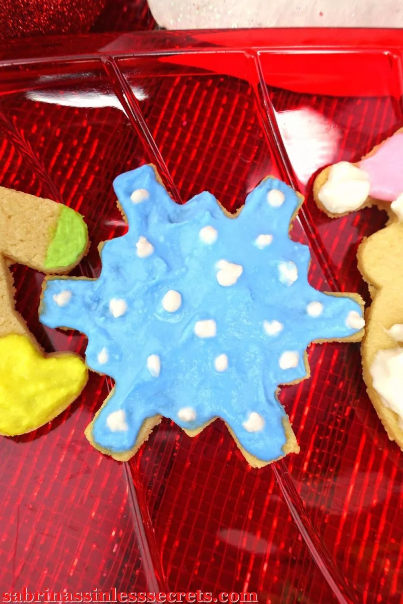Paleo And Vegan Cut Out Sugar Cookies With Naturally Dyed Icing