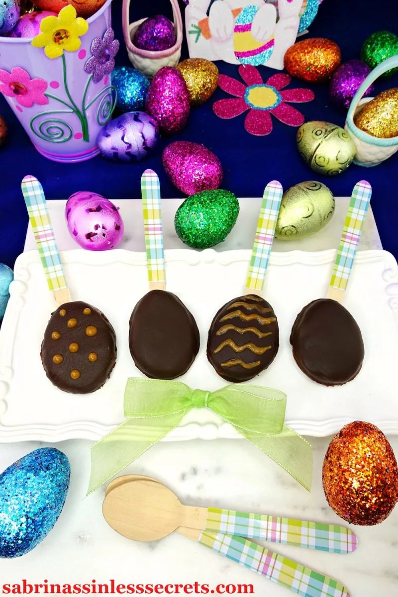 When Easter is near and you're searching for the perfect treat, look no further than these Gluten-Free and Vegan Dark Chocolate Peanut Butter Easter Eggs! They're an easy, no-bake, no-fuss treat that everyone will love! Instead of buying the artificial, sugar-filled Reese's Easter eggs, now you can relish a gluten-free, vegan, dairy-free, refined sugar-free sinless version that's just as yummy if not more!