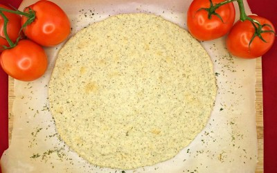 Thin and Crispy Paleo and Vegan Pizza Crust (Yeast-Free!)