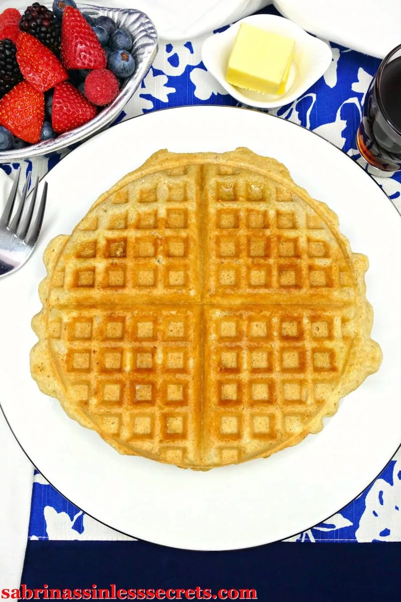 These Classic Paleo Waffles are light and crispy on the outside and fluffy on the inside. They're everything you could dream of in a waffle! You won't be able to tell they're gluten-free, Paleo, dairy-free, refined sugar-free, or clean-eating based on the texture and delectable taste! Look no further—The Best Classic Paleo Waffles are here!