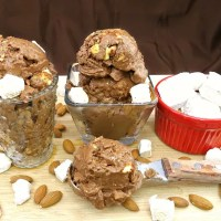 Paleo Rocky Road Ice Cream