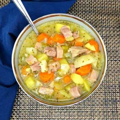 'Tis the season for comfort food! Soup is the perfect meal choice for winter—especially this Paleo Slow-Cooker Potato Ham Soup! It's hearty, filling, and so yummy! Did I forget to mention it's also gluten-free, grain-free, dairy-free, refined sugar-free, made with all-natural ingredients, and clean-eating?
