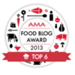 food blog award 2013