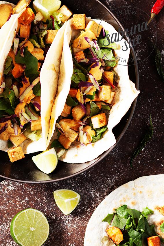 Vegan Tofu Tortilla