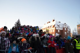 There were so many people watching the competition