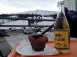 after skiing fika!