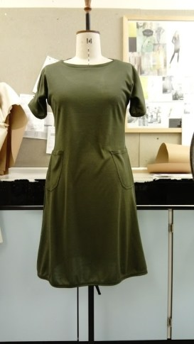Viking dress on a 14 stand that's two sizes too big