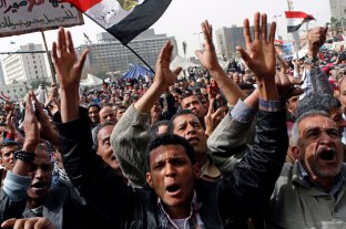 One of the protests against MB while Morsi was in power, Tahrir square.