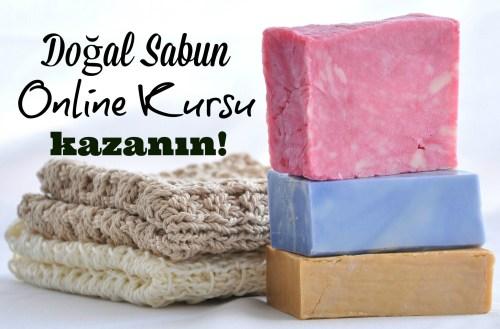 doğal sabun online kursu kazanın