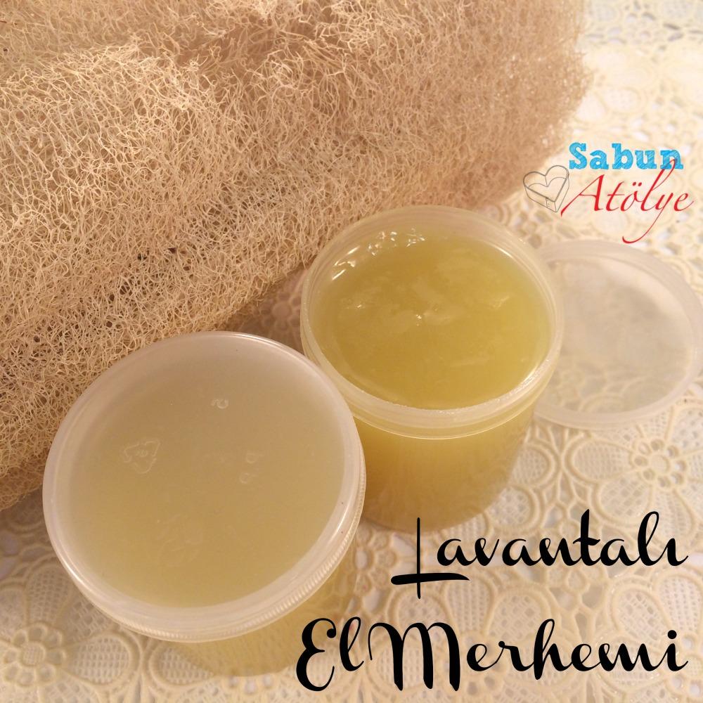 Bahçe & Sabun: Lavantalı El Merhemi