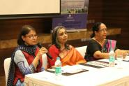 (L-R) Monica Sagar, Gowri Ishwaran, Meera Balachandran