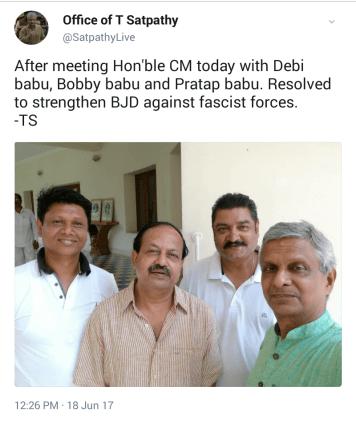 Tathagata's tweet
