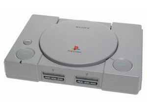 Sony's PlayStation gaming system.