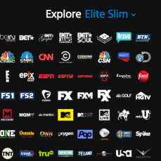 Elite Slim ($44.99, 100+ Channels)