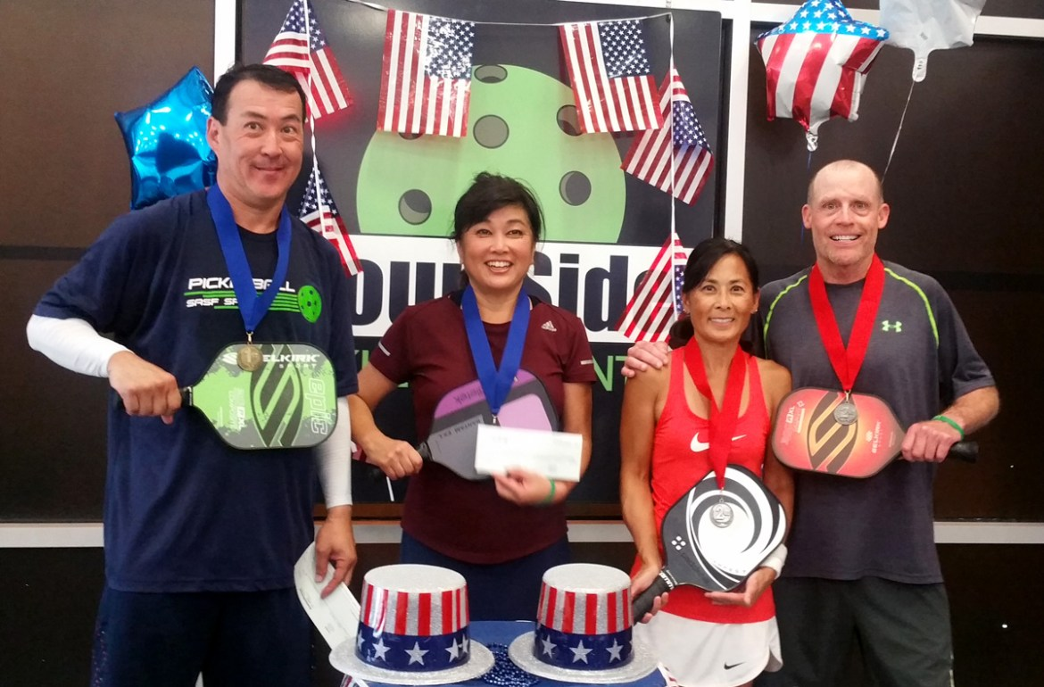 3,5 Mixed Doubles Finalist