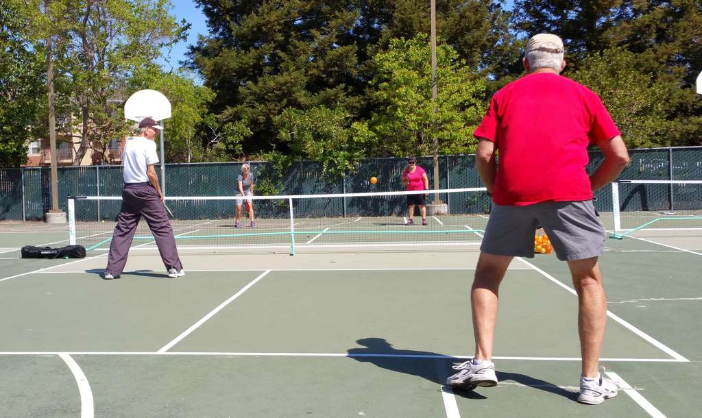 Pickleball dropin first day
