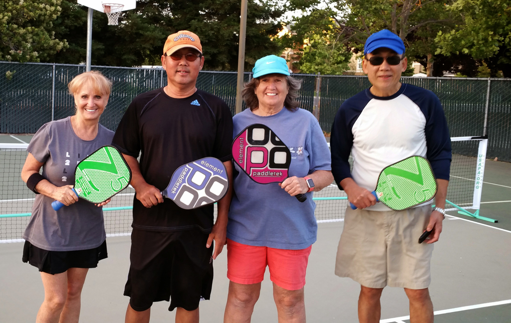 First Evening Pickleball Group