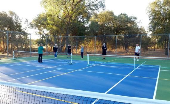 Rio Linda newly resurface courts