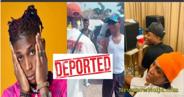 9ja Singer Bella Shmurda has been deported