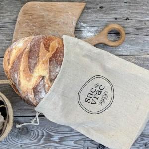Sac à pain miche-collection O Naturel-