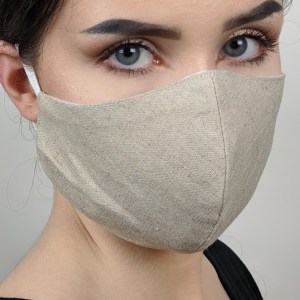 Masque de protection en lin