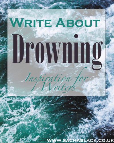 write about drowning
