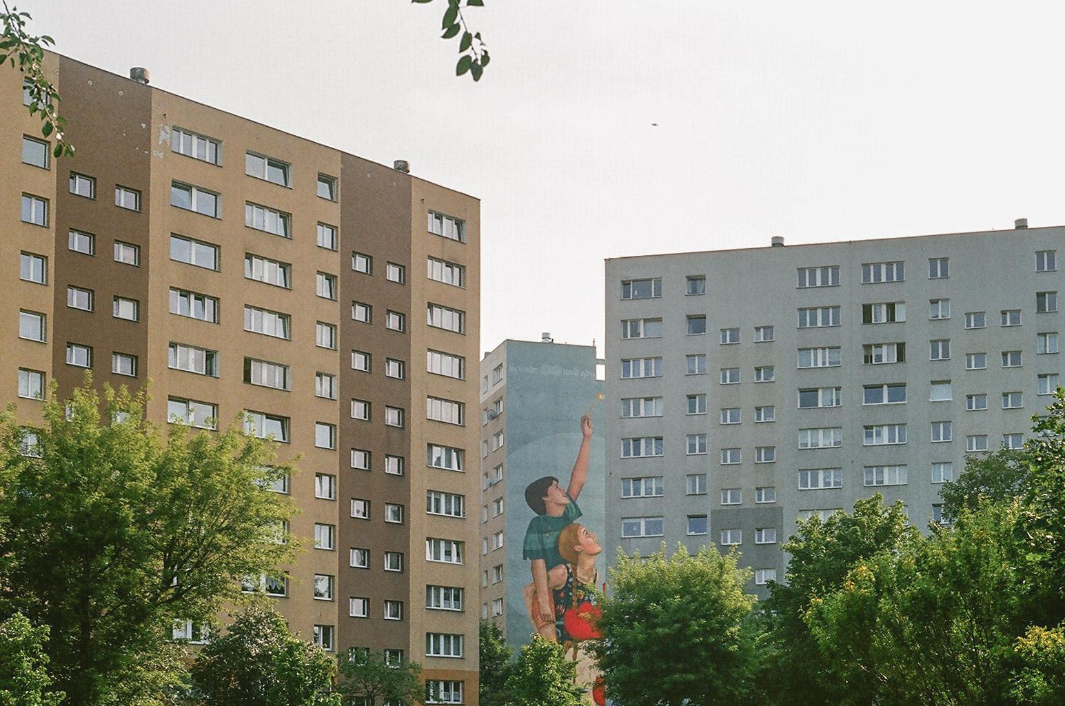 Zaspa district Gdansk (Poland)