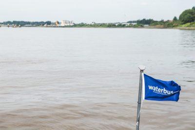 eerste vaart waterbus antwerpen juli 2016
