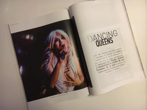 Dancing Queens ladyboys photo reportage Sacha Jennis in Trajectoire Magazine 09/2017