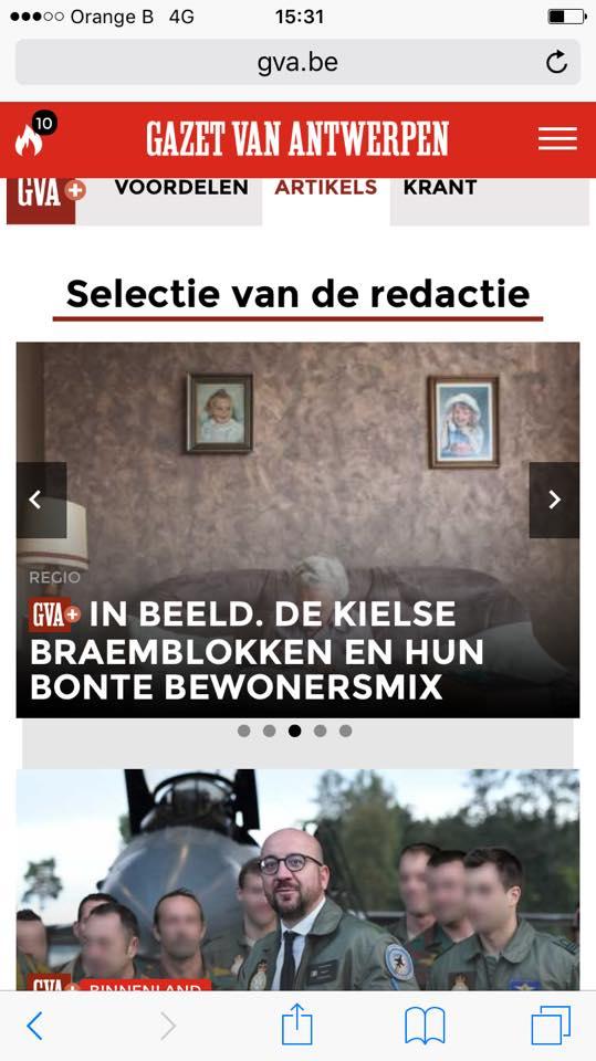 Expositie Groeten uit de Braemblokken tip van de Gazet van Antwerpen redactie