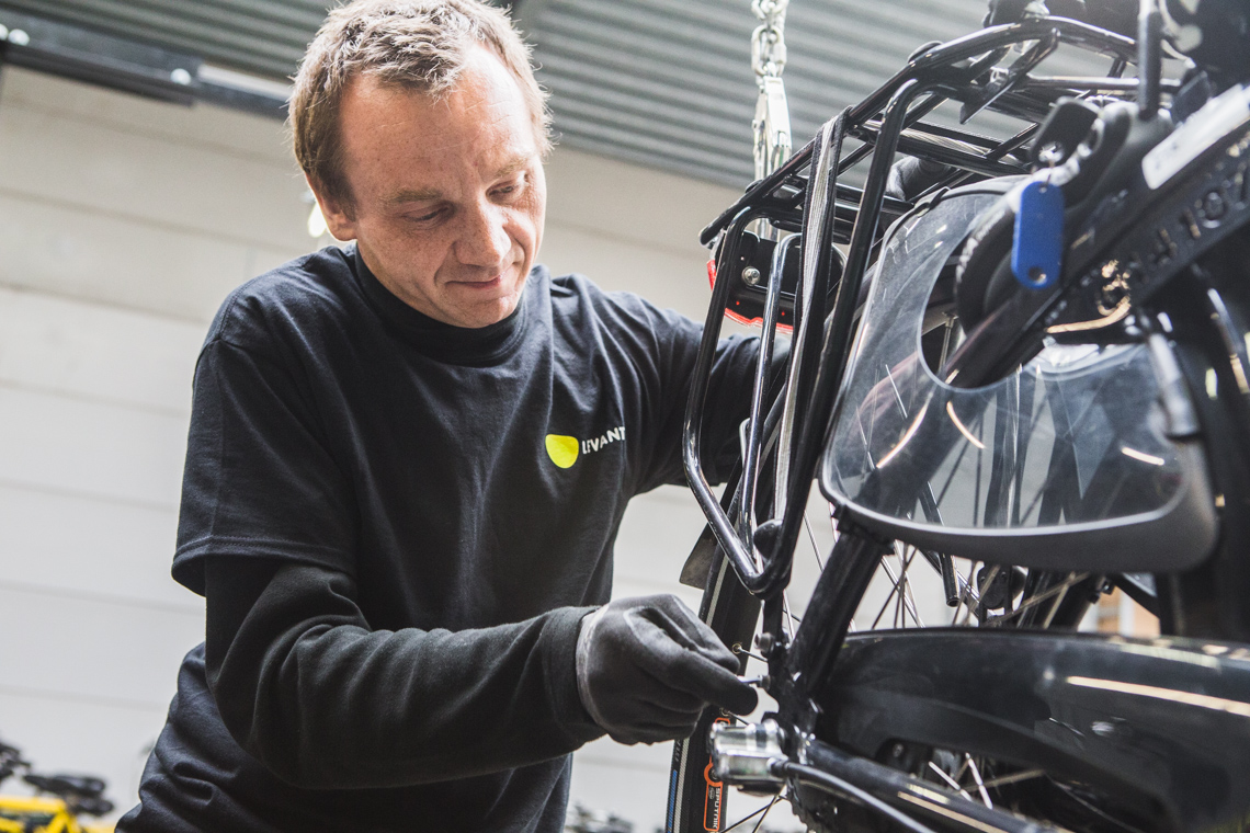 Levanto - onderhoud fiets