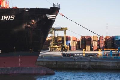 vessel port of antwerp