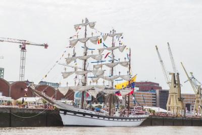 Tall Ships Races vanop de waterbus Antwerpen