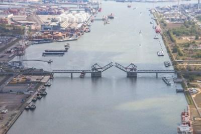 sluis Antwerpse haven