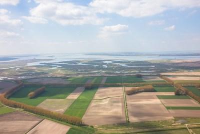 natuurgebied Antwerpse haven luchtfoto