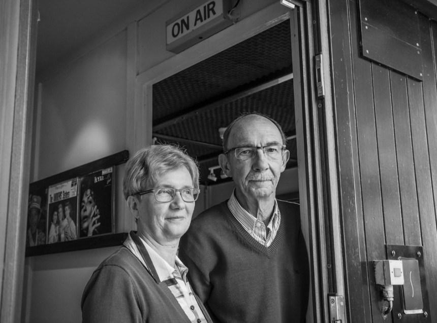 Radio Minerva - programmamakers Eddy en Cinne