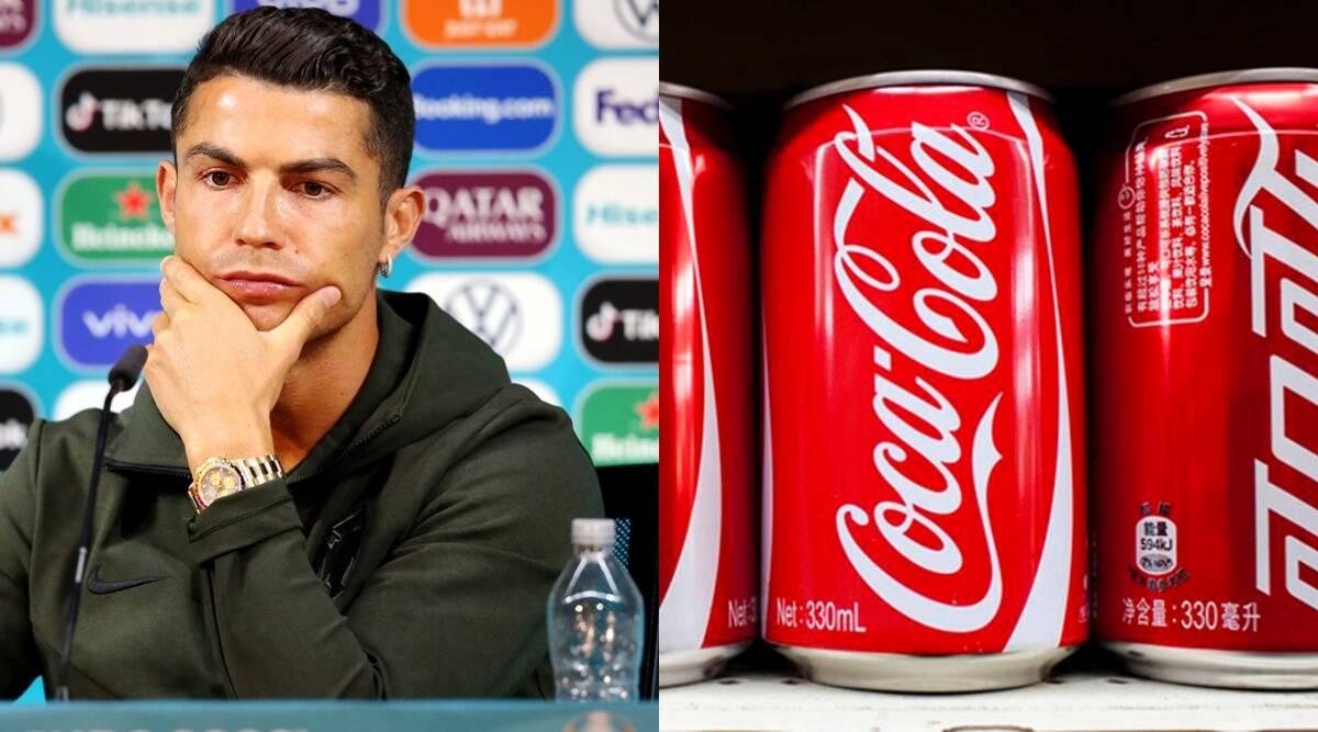 रोनाल्डो ने प्रेस कॉन्फ्रेंस में कोक की बोतल क्या हटाई, कंपनी को लगी 29 हजार करोड़ रुपए की चपत