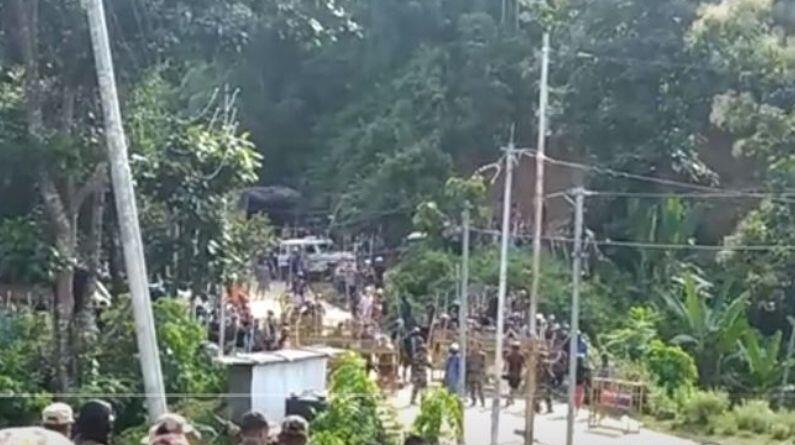 #AssamMizoramBorder Dispute: हिंसक झड़प में असम पुलिस के 6 जवानों की मौत पर मनाया गया जश्न, CM हिमंत बिस्वा सरमा ने शेयर किया वीडियो