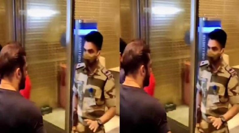 Tiger 3: सिक्योरिटी चेक के लिए रोके गए Salman Khan, CISF ऑफिसर की जांबाजी को लोगों ने किया सैल्यूट