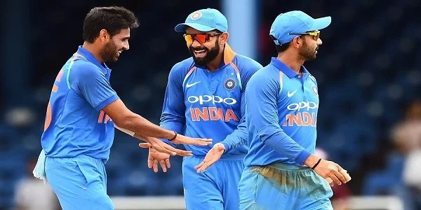 India Beat West Indies in 2nd ODi
