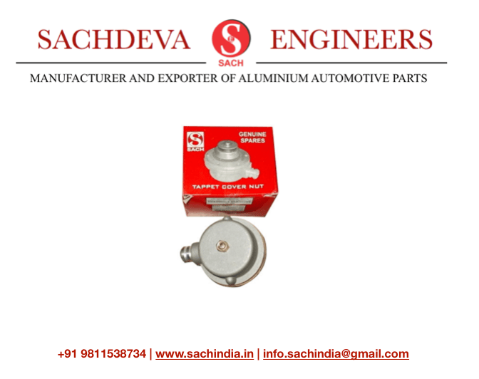 Sachdeva Engineers Tappet Cover Nut Tappet Nut Breather NuT Lomabardini Engine 450 and 510