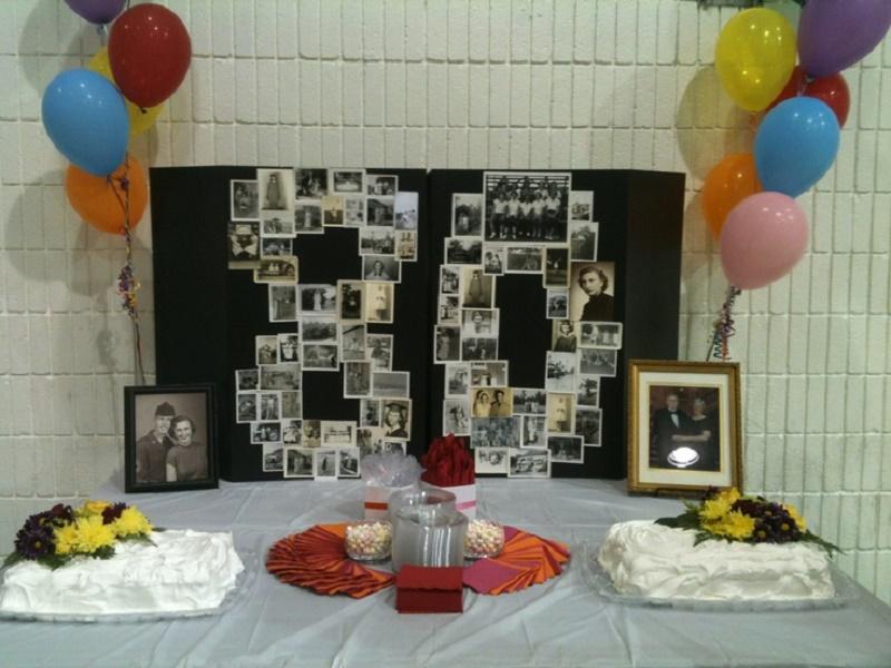 80th Birthday Table Decorations Ideas