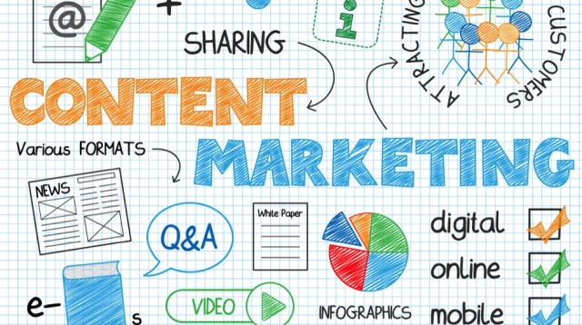 Media research and content marketing