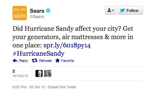 sears twitter