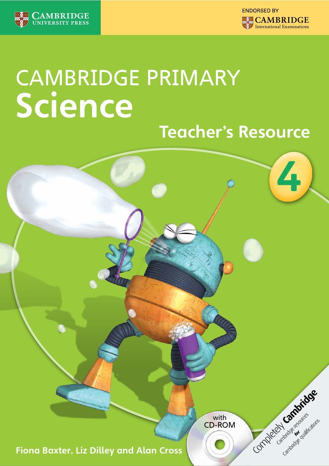 Sach Cambridge Primary Science 4 Teacher S Resource