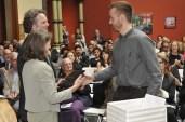 Ryan receiving The Murray Dessner Award